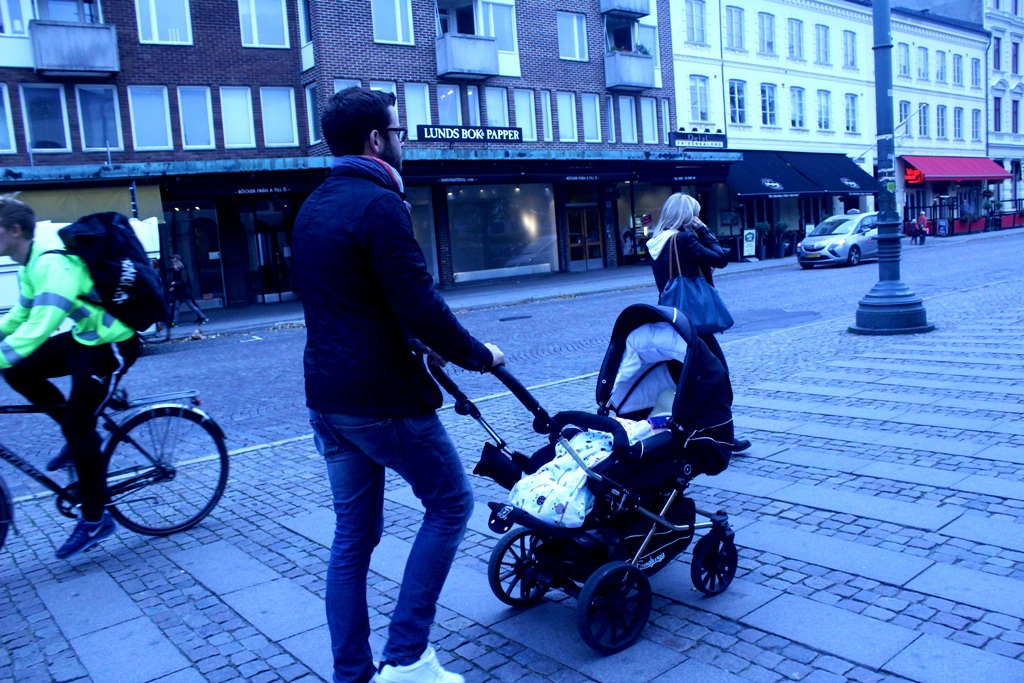 Các ông bố ở thành phố Uppsala