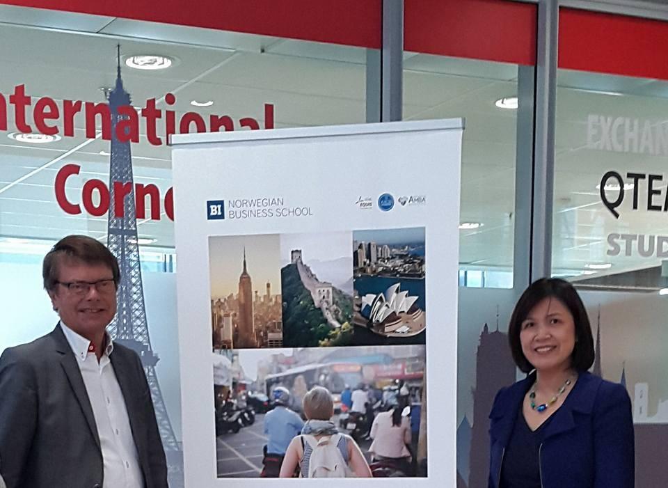 Đại sứ Lê Thị Tuyết Mai cho biết, ở một số đại học, viện nghiên cứu của Na Uy có giáo sư người Việt Nam giảng dạy (Ảnh: ĐSQ)