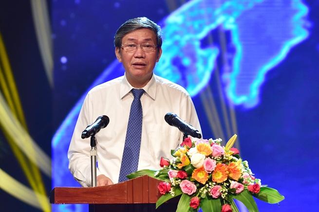 Lễ trao giải có sự tham dự của ông Đinh Thế Huynh, Ủy viên Bộ Chính trị, Thường trực Ban Bí thư Trung ương Đảng