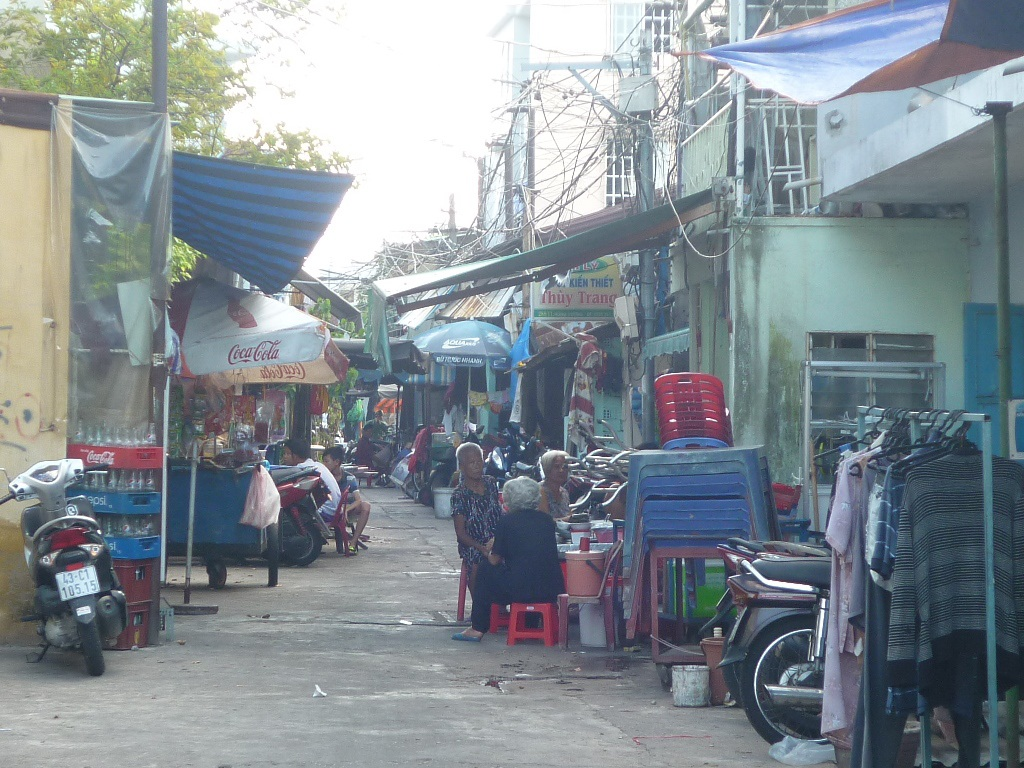 Khu chợ Cồn