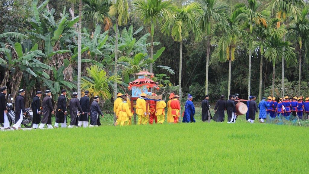 Lễ hội đình làng Túy Loan (xã Hòa Phong, huyện Hòa Vang, TP Đà Nẵng) vừa diễn ra ngày 17/2