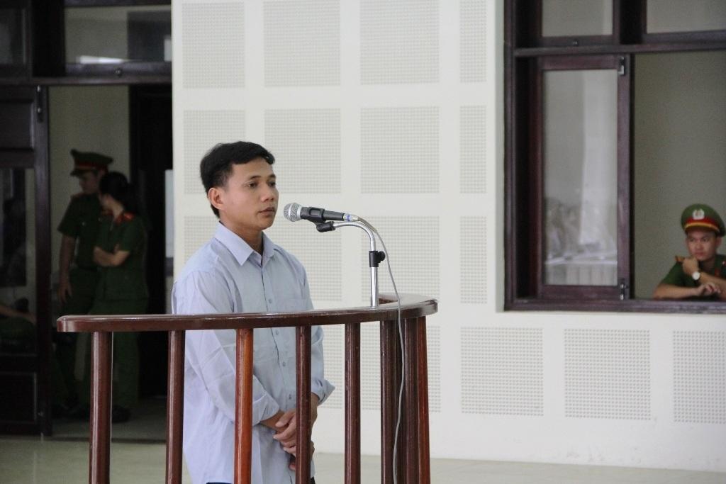 Trần Quang Hai tại phiên tòa