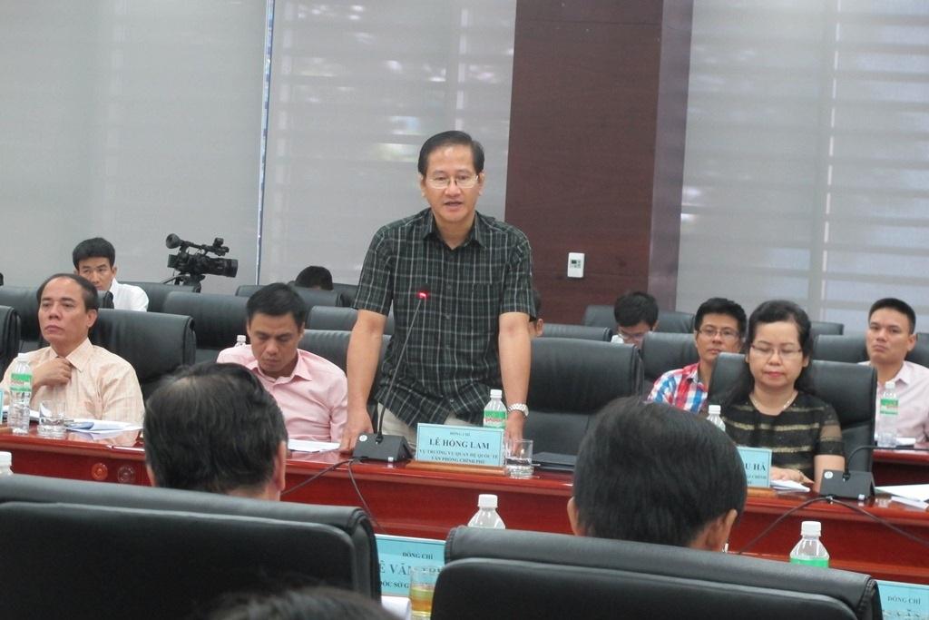 Ông Lê Hồng Lam - Vụ trưởng Vụ Quan hệ quốc tế ngạc nhiên về tình hình thu hút đầu tư vào Đà Nẵng