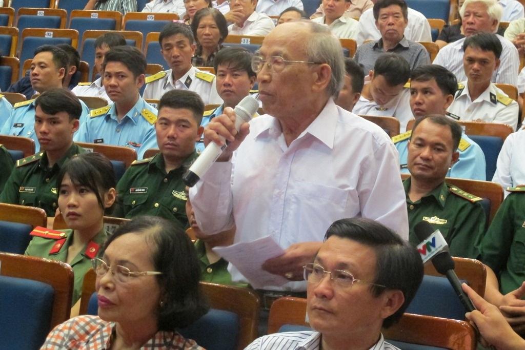 Cử tri Đặng Vân kiến nghị những vấn đề liên quan đến sự cố môi trường biển của Formosa