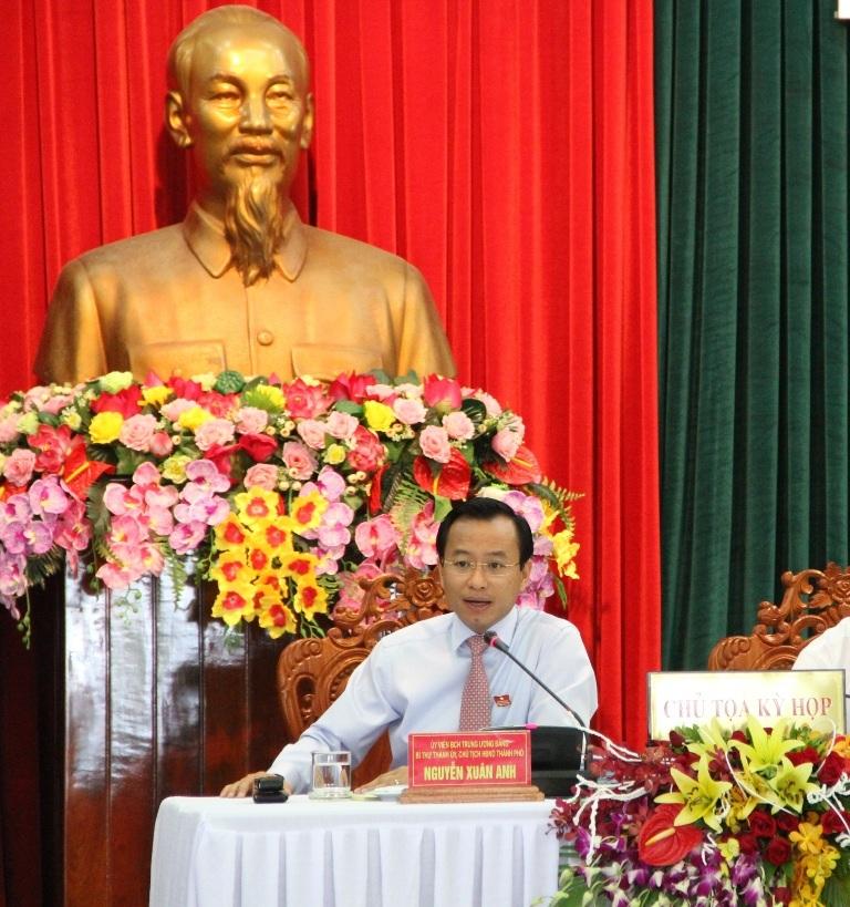 Ông Nguyễn Xuân Anh kiên quyết: Đà Nẵng không thể có băng nhóm tội phạm.