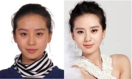 """Nàng """"Nhược Hi"""" quả không hổ danh là """"ngọc nữ"""" của điện ảnh Hoa ngữ. Dù không trang điểm, trông Lưu Thi Thi vẫn rất xinh đẹp và có thần thái."""