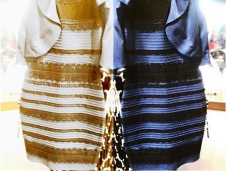 Bản gốc chiếc váy mỗi người nhìn thành một màu