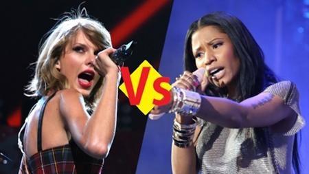 Taylor Swift hối hận về cuộc khẩu chiến với Nicki Minaj