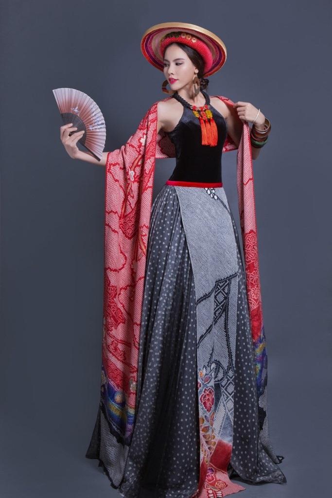 """""""Lộ diện"""" trang phục truyền thống của Lệ Quyên tại Miss Grand International 2015 - 8"""