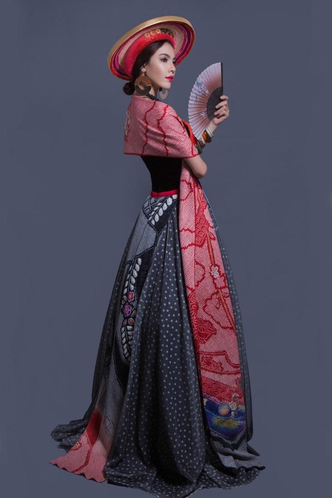 """""""Lộ diện"""" trang phục truyền thống của Lệ Quyên tại Miss Grand International 2015 - 7"""