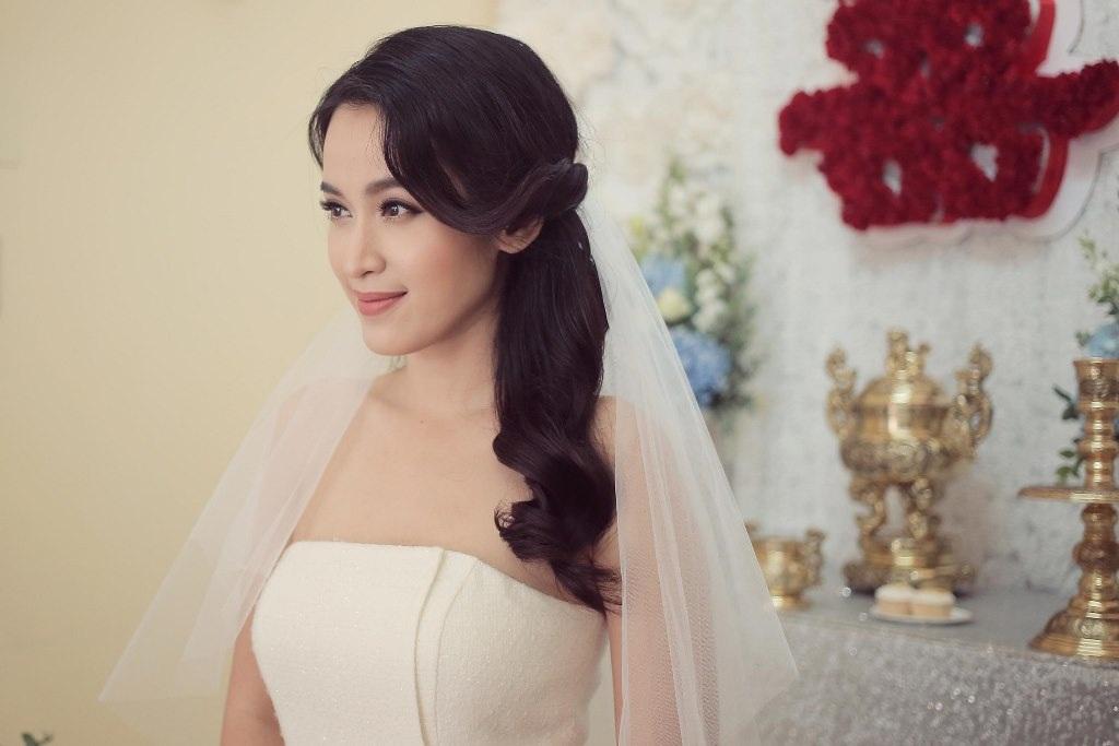 Tú Vi - Văn Anh rạng rỡ ngày thành hôn - 1