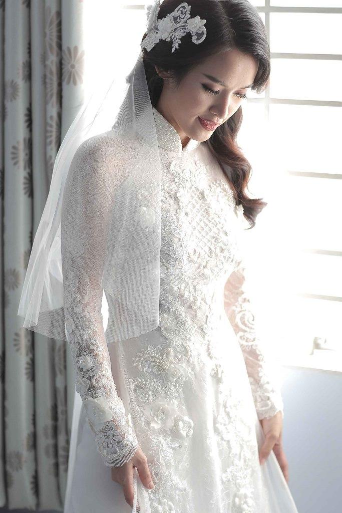 Tú Vi - Văn Anh rạng rỡ ngày thành hôn - 5