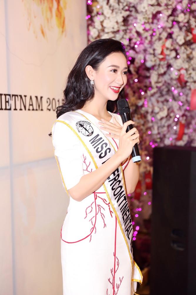 Hé lộ ba lý do Hà Thu được  chọn tham gia Hoa hậu Liên lục địa 2015 - 3