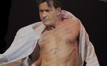 Hình ảnh của Charlie Sheen trong một đoạn clip nóng