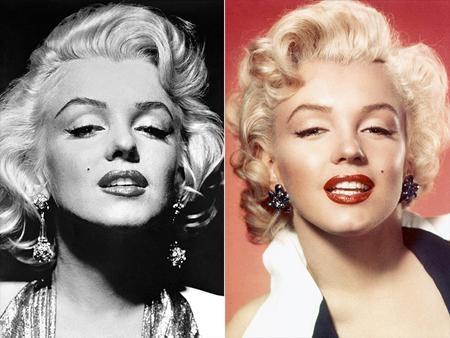 """""""Biểu tượng sex"""" của thế kỉ 20, Marilyn Monroe sở hữu một đôi mắt đẹp hút hồn. Vừa gợi cảm lại vừa mê đắm, Marilyn Monroe dễ dàng """"đốn gục"""" trái tim của biết bao cánh mày râu và từng được bình chọn là mỹ nhân sở hữu đôi mắt đẹp nhất hành tinh vào năm 1953."""