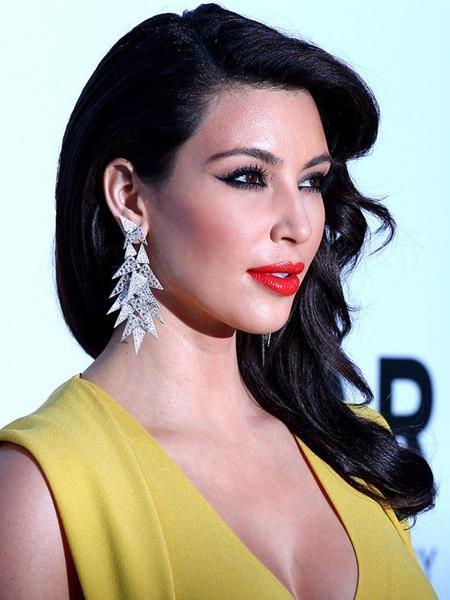 """Ngoài """"siêu vòng 3"""" nức tiếng, """"nữ hoàng thị phi"""" của Hollywood Kim Kardashian cũng sở hữu một đôi mắt đẹp mê hoặc"""