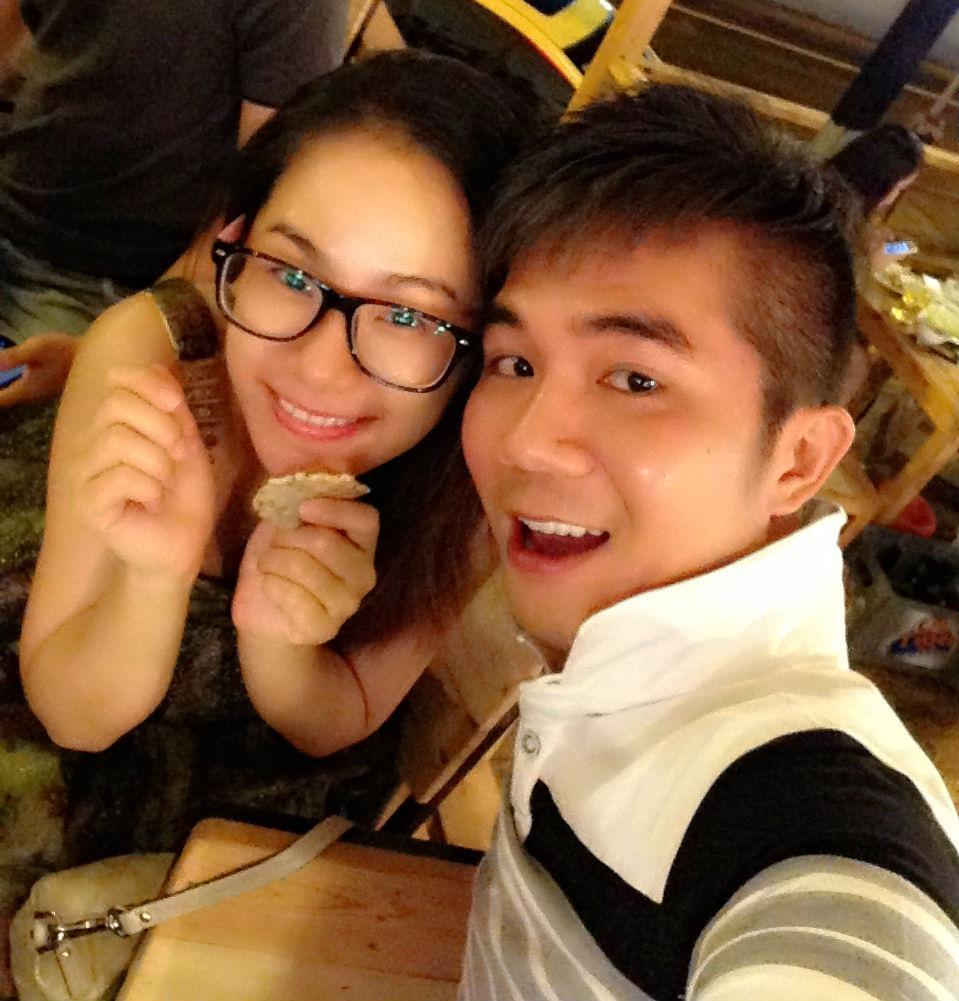 Lương Bích Hữu và Khánh Đơn ngày còn hạnh phúc bên nhau.