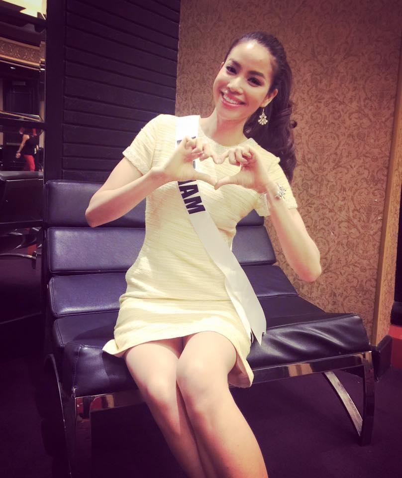 Phạm Hương được giao quản lý tài khoản Instagram của Hoa hậu Hoàn vũ - 6