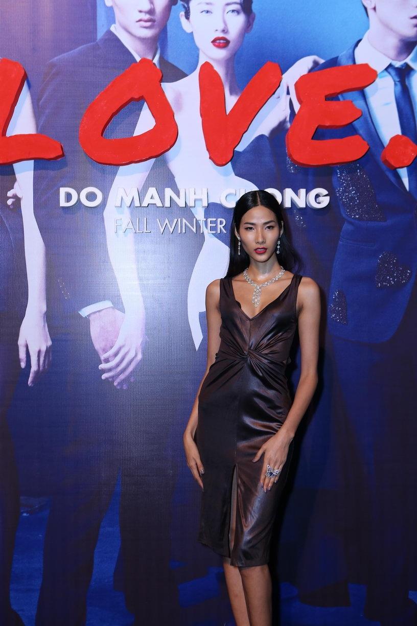 Sao Việt lộng lẫy khoe sắc trên thảm đỏ show thời trang - 14