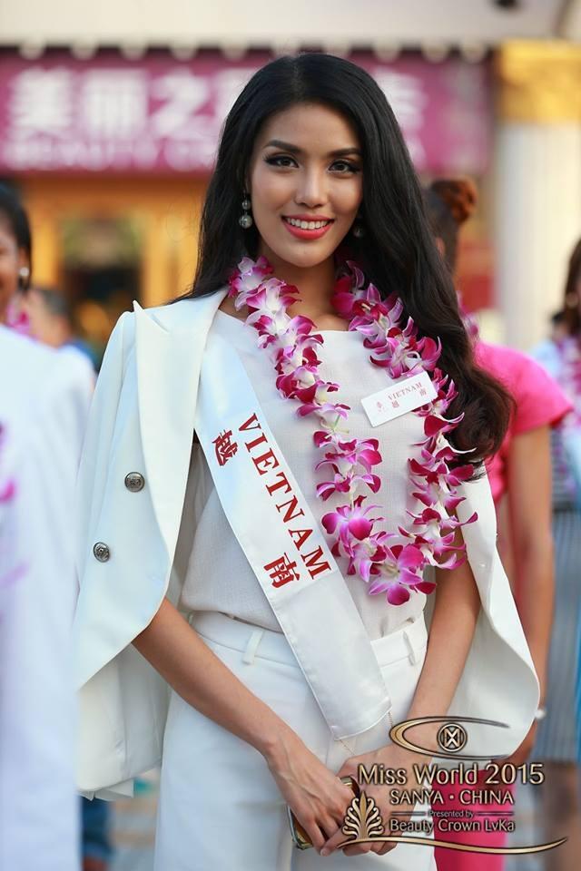 Hành trình đẹp của Lan Khuê tại cuộc thi Hoa hậu Thế giới - 7
