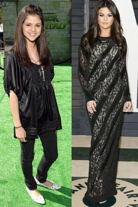 """Selena Gomez hiện tại trông khá """"dừ"""" so với hồi còn """"đầu quân"""" cho mái nhà Disney"""