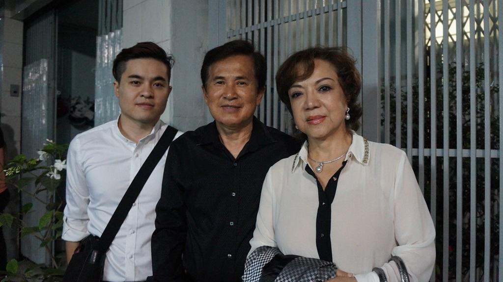 Nghệ sĩ Hoài Thanh và gia đình