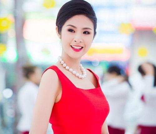Hoa hậu Ngọc Hân sở hữu vẻ đẹp dịu dàng, nữ tính của phụ nữ Việt