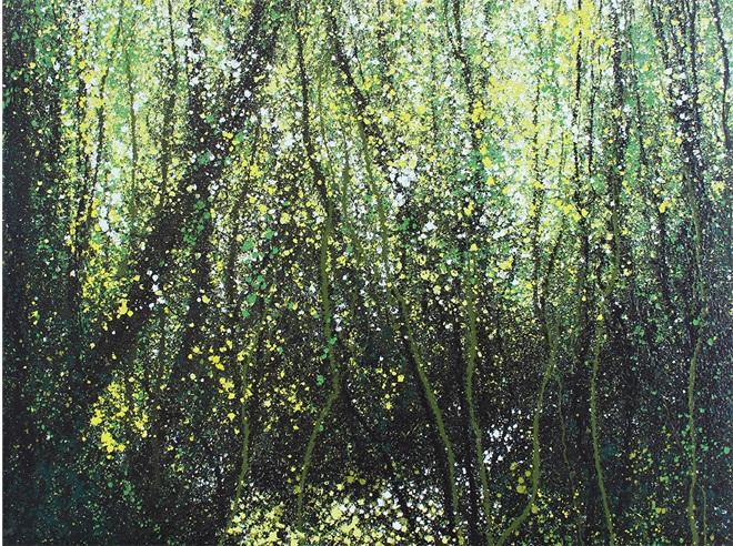 Một trong những tác phẩm phong cảnh ấn tượng của họa sĩ Liêu Nguyễn