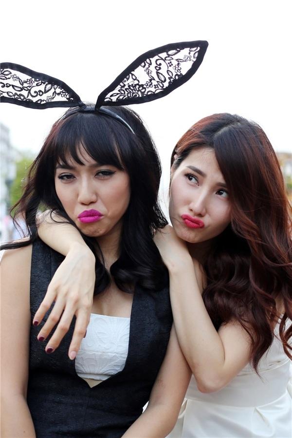 Diệu Nhi và Diễm My trong bộ phim điện ảnh đầu tiên của cô