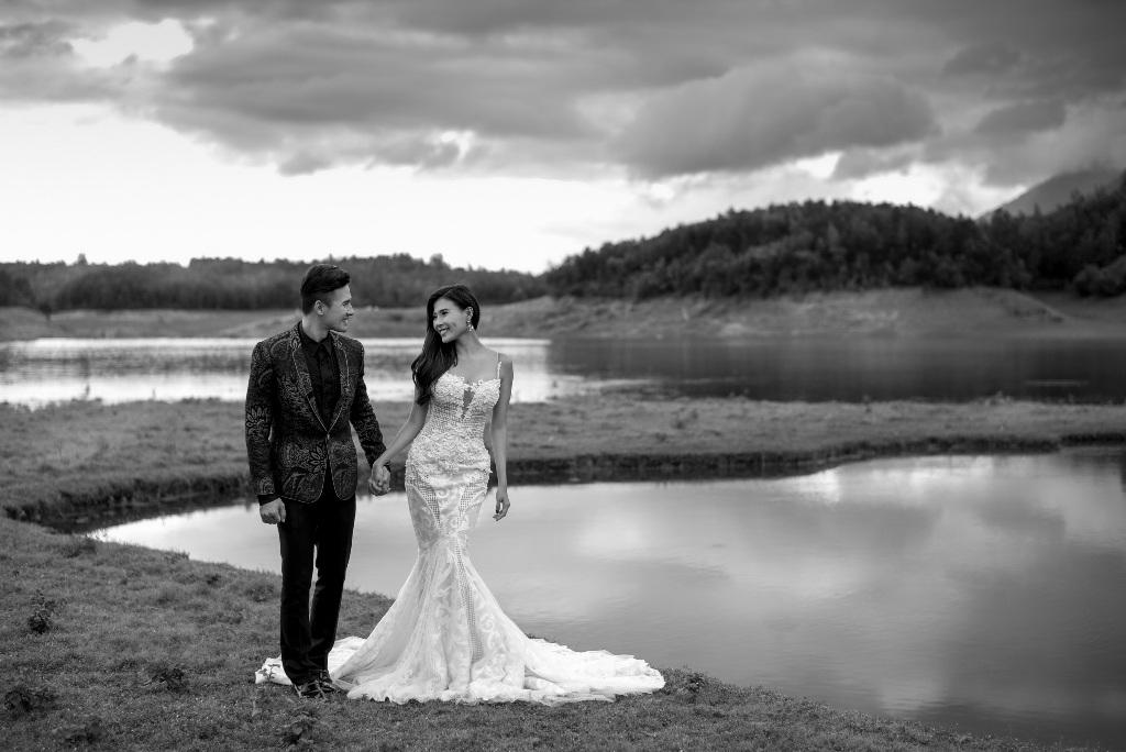 Lương Thế Thành và Thúy Diễm tung ảnh cưới đẹp lung linh - 6