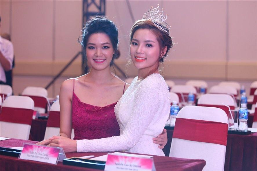 Hoa hậu Thùy Dung khá thân thiết với đương kim hoa hậu Kỳ Duyên