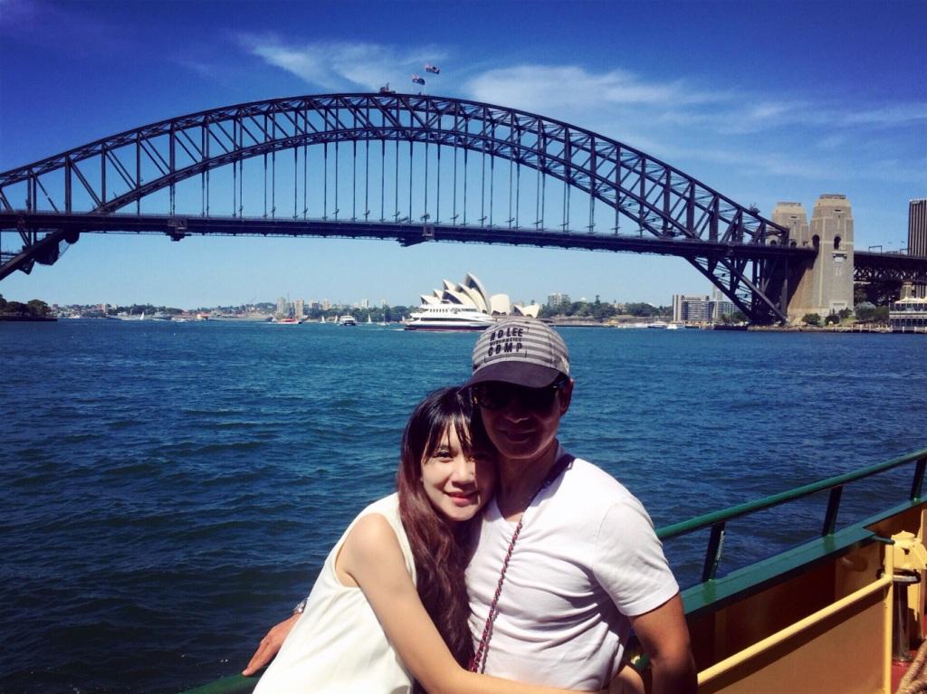 Đi du lịch cùng nhau cũng là khoảng thời gian hai vợ chồng Lý Hải - Minh Hà hâm nóng tình cảm