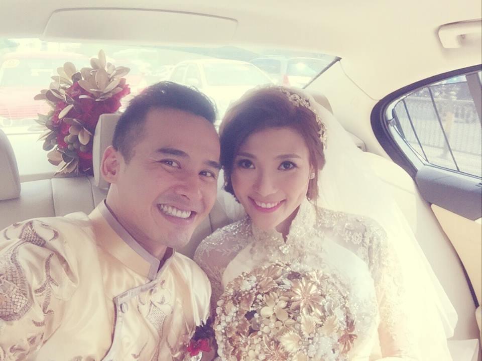 Lương Thế Thành hạnh phúc rước cô dâu Thúy Diễm về quê - 14
