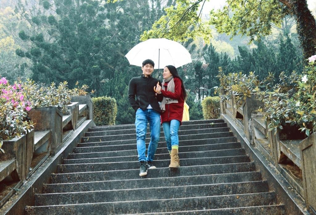 Quốc Cơ - Hồng Phượng khoe ảnh tuần trăng mật lung linh tại Đài Loan - 9