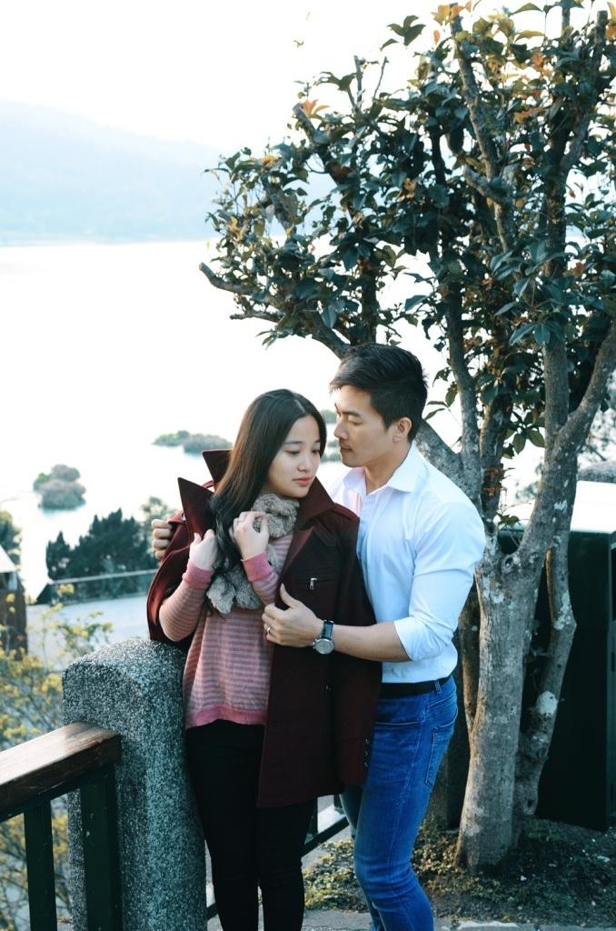 Quốc Cơ - Hồng Phượng khoe ảnh tuần trăng mật lung linh tại Đài Loan - 10
