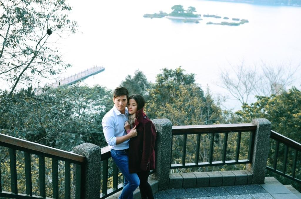 Quốc Cơ - Hồng Phượng khoe ảnh tuần trăng mật lung linh tại Đài Loan - 8