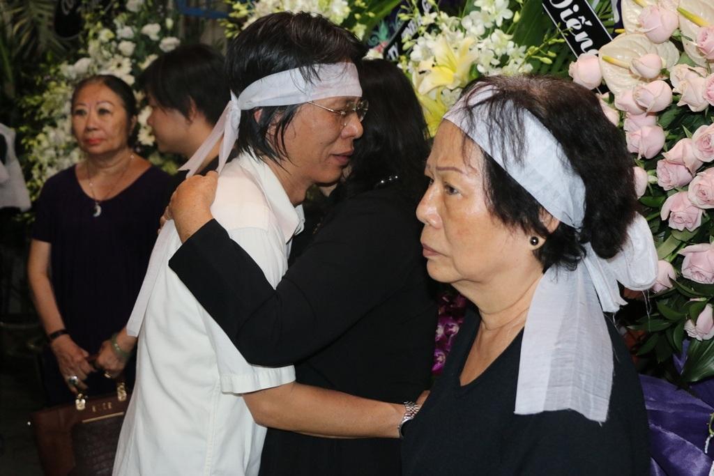 Đàm Vĩnh Hưng xin lỗi trước linh cữu nhạc sĩ Nguyễn Ánh 9 - 11