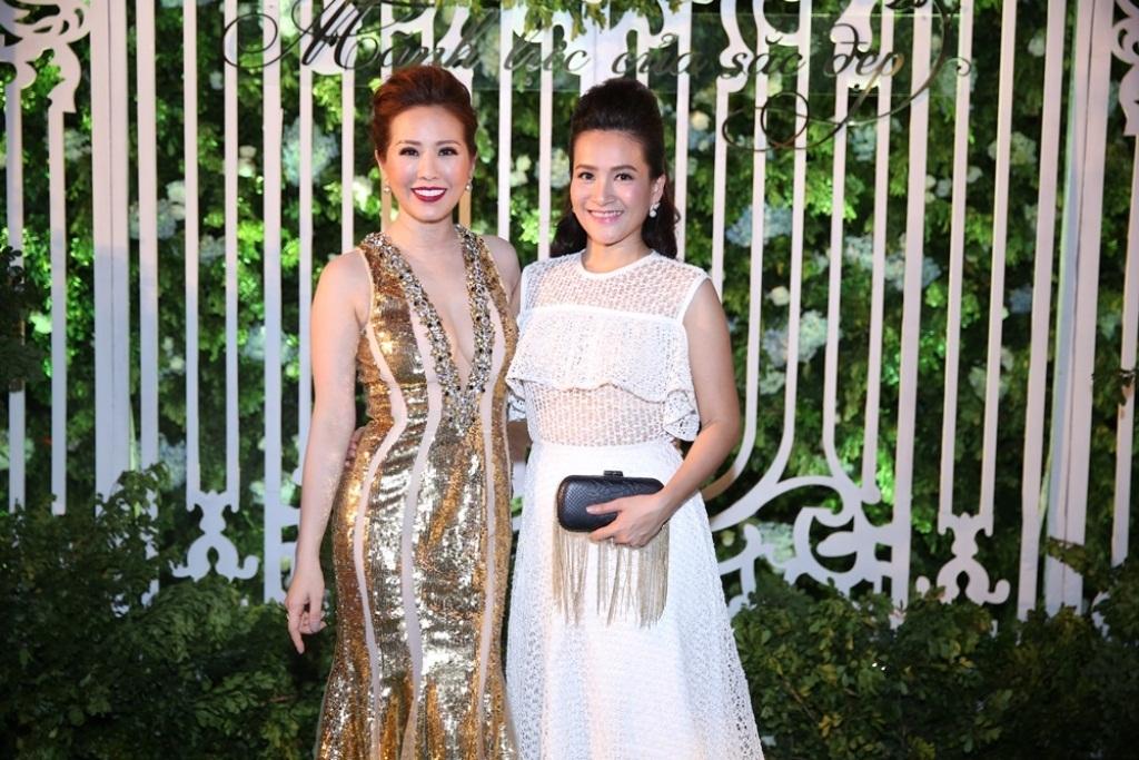 Hoa hậu Thu Hoài và Anh Thơ - bà xã của diễn viên Bình Minh
