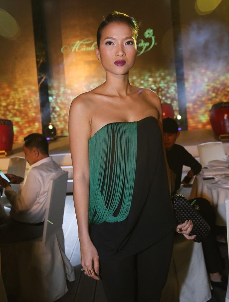 Cựu người mẫu Bằng Lăng cũng bất ngờ xuất hiện trong sự kiện