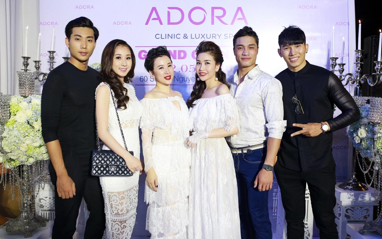 Dàn sao lộng lẫy mừng ra mắt Viện thẩm mỹ Adora spa - 10