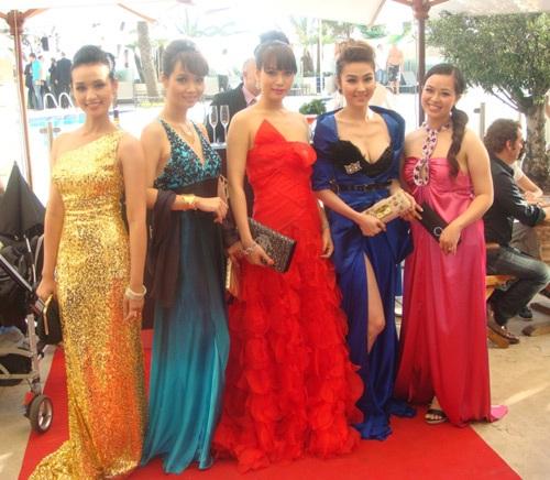 Dàn sao Việt đầu tiên được mời tham dự LHP Cannes: Lã Thanh Huyền, Mai Thu Huyền, Trương Ngọc Ánh, Ngân Khánh