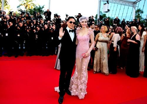 Đạo diễn Ngô Quang Hải và Trang Nhung