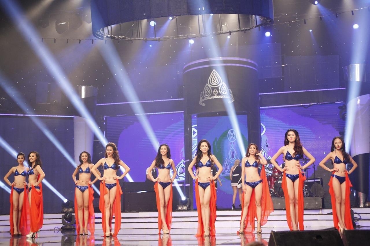 Những khoảnh khắc đẹp đêm chung kết Hoa khôi áo dài - 25