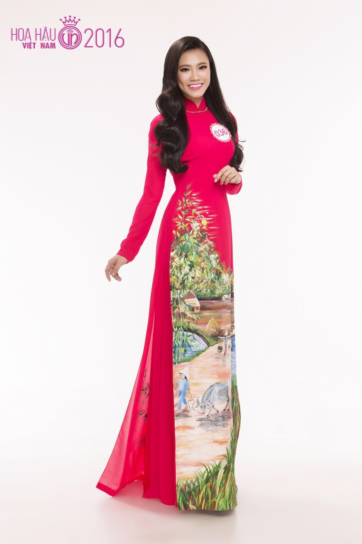 Nguyễn Huỳnh Kim Duyên - Top 12 Hoa khôi Áo dài 2014