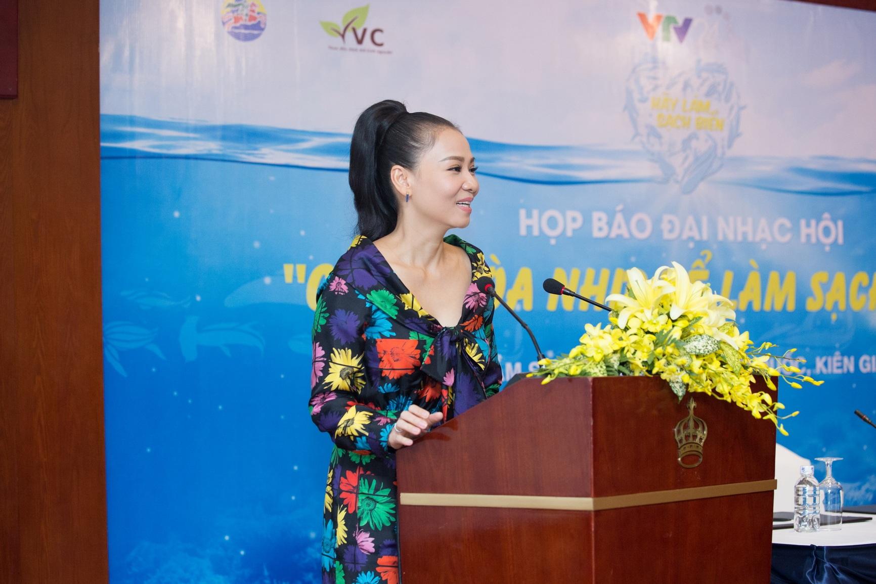 """Thu Minh trở thành đại sứ """"Hãy làm sạch biển"""" - 2"""
