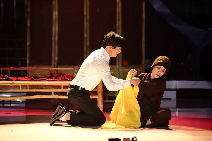 Võ Hạ Trâm đã hóa thân vào vai Lan khá ngọt, cô hát, cô diễn đều tập trung hết vào nhân vật như một diễn viên nhà nghề thực thụ. Gây xúc động và lấy nước mắt khán giả, không gian chùng xuống trong phần trình diễn rất xuất thần của Võ Hạ Trâm.