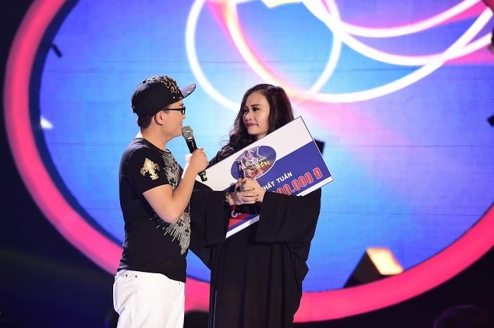 Kết quả chung cuộc, với phần hóa thân rất xuất sắc hình ảnh ca sĩ Thanh Lam đã giúp Hà Thúy Anh đạt giải nhất tuần với 35 điểm.