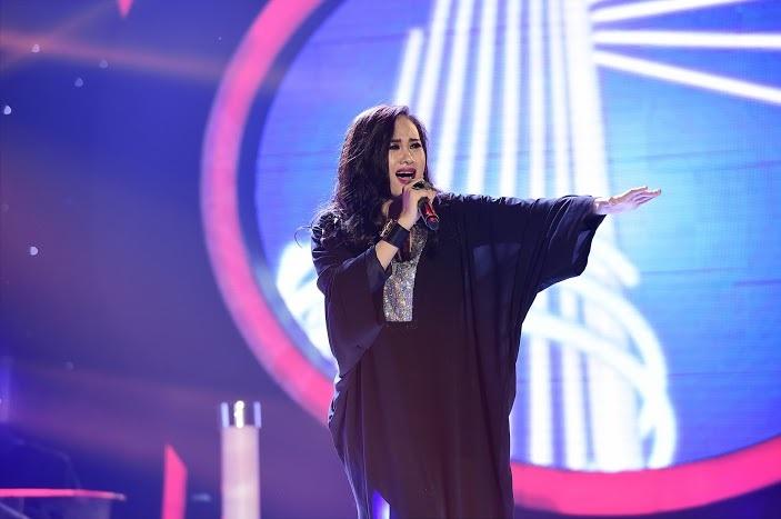 Cô đã có phần hóa thân rất xuất sắc từ phong cách trình diễn, thần thái thể hiện trên sân khấu và cả cách xử lý bài hát của Thanh Lam.