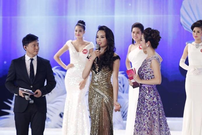 Phần trả lời ứng xử của hoa hậu Kỳ Duyên trong cuộc thi HHVN 2014