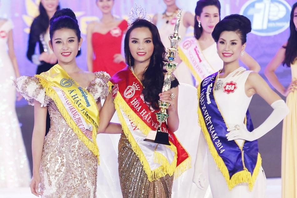 Top 3 ngôi vị cao nhất của Hoa hậu Việt Nam 2014